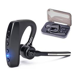 Bluetooth Headset V4.2, Hands-free Business Earpieces for Ce