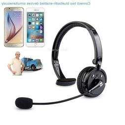 Bluetooth Headset Wireless Headphones Noise Cancelling with