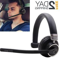 bluetooth headset with mic for truck drivers