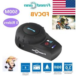 Freedconn Motorcycle Helmet Intercom Headset Bluetooth FDCVB