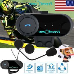 100M 3Riders Motorcycle Bluetooth Intercom Helmet Headset In
