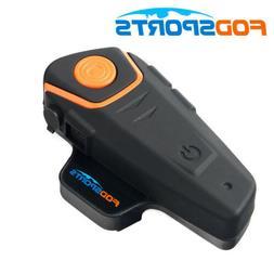 Bluetooth Interphone BT Motorcycle Helmet Intercom Headset F