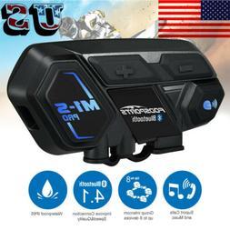 Bluetooth Motorcycle Intercom 2000m M1-S Pro BT Interphone H