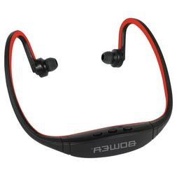 Bower Bluetooth Sport Headphones  USB charge Wrap Headsets B