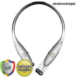 LG Bluetooth Stereo Headset Wireless Retractable Earbuds Com