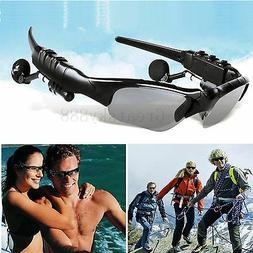 Bluetooth Sunglasses Talk Music Headset Headphone Micphone F