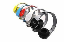 Stereo Hi-Fi Bluetooth Headphones Headset for Mobile Cell Ph