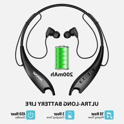 MPOW Bluetooth Wireless Headphones Headsets Earphone Neckban