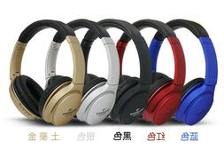 Bluetooth Wireless Headphones On the Ear Ear Pad Stereo Head