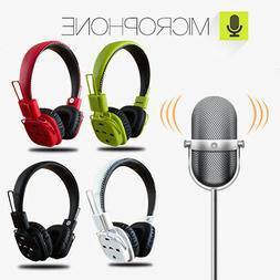 Bluetooth Wireless Headphones Stereo Foldable Headsets For i