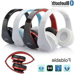 Dad Present Wireless Headset Stereo Headphone Foldable Earph