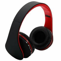 Bluetooth Wireless Headset Stereo Headphone Foldable Microph