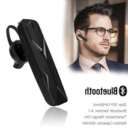Bluetooth Wireless Noise Cancelling Trucker Headset Earpiece