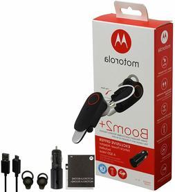 Motorola Boom 2+ PLUS -HD Flip Bluetooth Water Resistant Dur
