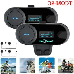 Freedconn Headsets Intercom Motorcycle Bluetooth Helmet Moto