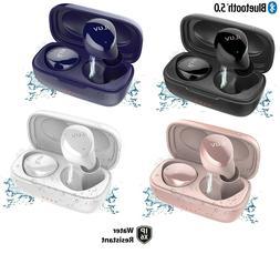iLuv Bubble Gum True Wireless Cordless Waterproof In-Ear Blu