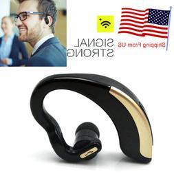 Business Office Driver Bluetooth Headset Wireless Earpiece f