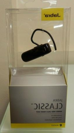 Jabra Classic Bluetooth Headset  Black - New