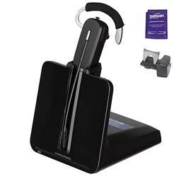 Plantronics CS540 Wireless Headset Bundle with Lifter and He