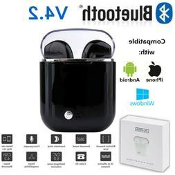 Dual Wireless Bluetooth Earphone Earbuds for Samsung Galaxy