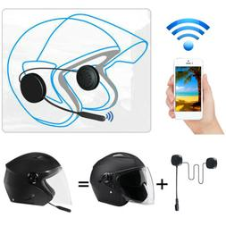 Durable Rechargeable Bluetooth 5.0 Helmet Motorcycle Headset