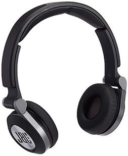 JBL E30 Black High-Performance On-Ear Wired Headphones with