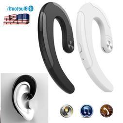 Painless Bluetooth Earphone Hang On Ear Headset Wireless Hea