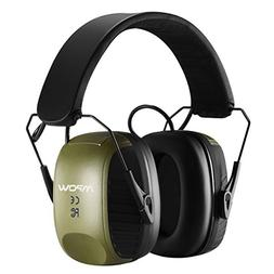 Mpow Electronic Ear Protection Earmuffs, Sound Amplification