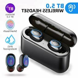 Bluetooth 5.0 Earbuds Headphones Wireless 8D stereo Headset