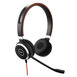 Jabra Evolve 40 MS Duo Microsoft Optimized Corded Headset