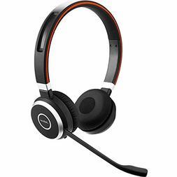 Jabra Evolve 65 UC Stereo Wireless Bluetooth Headset / Music