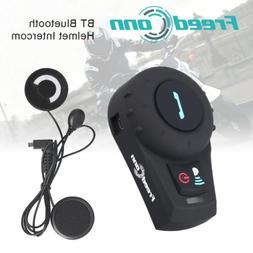 FDCVB 2 Way Radio Bluetooth Motorcycle Intercom 3Rider Helme