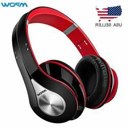 Mpow Foldable On-Ear Headphone Bluetooth HeadSet Noise Cance