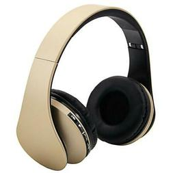 Foldable Wireless Stereo Bass FM Headphones Headset For iPho