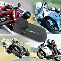 Freedconn Motorcycle Bluetooth Interphone Intercom Helmet He