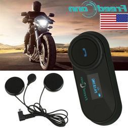 FDC TCOM-SC 800M Motorcycle Helmet Bluetooth Headset Interco