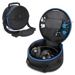 ENHANCE Portable Headphone Case for Wired & Bluetooth Wirele