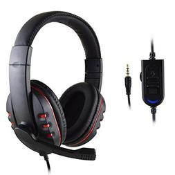 AutumnFall New Gaming Headset Voice Control Wired HI-FI Soun