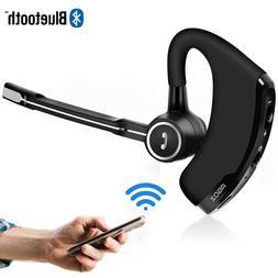 HD Bluetooth Headset Hands-free Wireless Mobile Earpiece w/