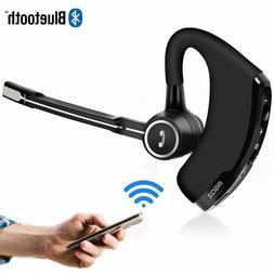 HD Bluetooth Headset, Hands-free Wireless Mobile Earpiece wi
