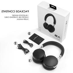Headphones Bluetooth Wireless Headset Over-Ear Noise Cancell