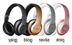 Bluetooth Headphones Wireless Foldable Stereo Earphones Supe