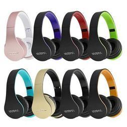 Andoer HiFi Stereo Bass Earphone Wireless BT Foldable Headse