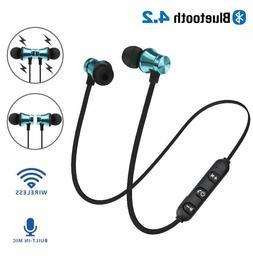 In-Ear Earbuds Headphone Bluetooth 4.2 Stereo Earphone Heads