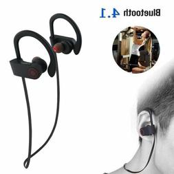 IP68 Waterproof Bluetooth 4.1 Headsets for Swimming Wireless