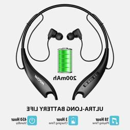 Mpow Jaws Gen-5 Bluetooth 5.0 Headphones Wireless Neckband H