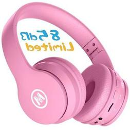 Mokata Kids Headphone Bluetooth Wireless Over Ear Foldable S