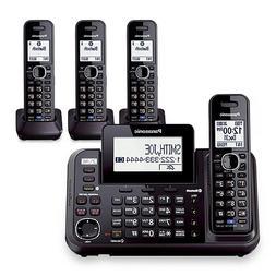 Panasonic KX-TG9542B Dect 6.0 2-Line Cordless Phone w/ Link-