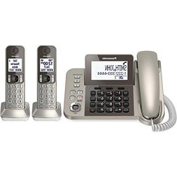 PANASONIC Corded / Cordless Phone System with Answering Mach