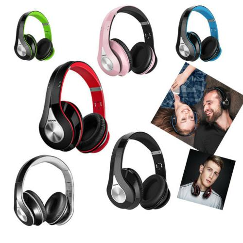 Mpow 059 Bluetooth Headphones Wireless HiFi Stereo Mic Folda